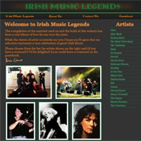 Irish Music Legends